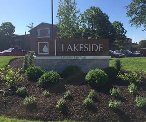 Community Signage, Lakeside Apartments