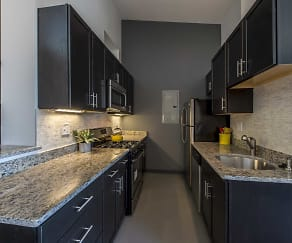 Kitchen, The Lofts at East Berkeley