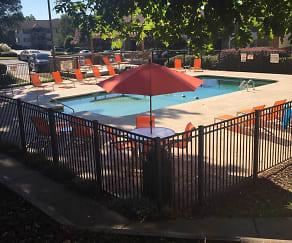 Pool, Campus Edge Apartments