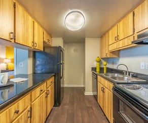 Kitchen, Laurel Oaks Apartments