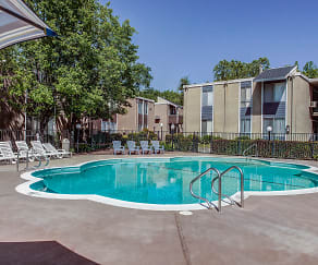 Pool, Creekside Apartments