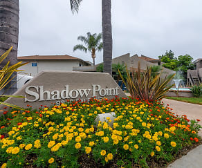 Community Signage, Shadow Point Apartments