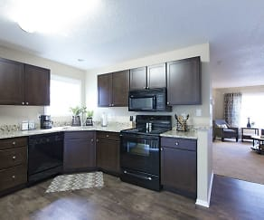 Kitchen, Foxboro and Ashworth Pointe Townhomes
