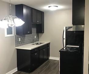 2611- 1BR Kitchen, The Minneapolis 220