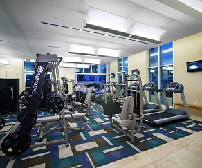 Fitness Weight Room, 717 Olympic