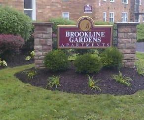 Community Signage, Brookline Gardens