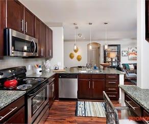 Kitchen, Oaks at Johns Creek