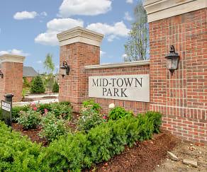 Community Signage, Midtown Park