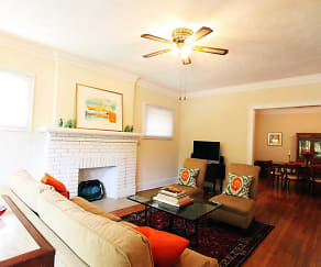 Living Room, Lewis Manor & Mapleview Apartments
