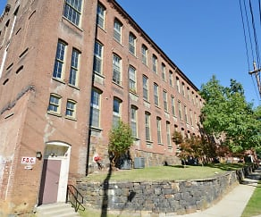 Building, The Lofts at Silk Mill