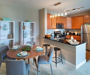 Kitchen, The Elms at Century
