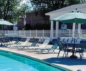 Pool, Clintwood Apartments