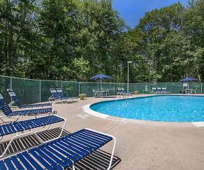 Pool, Meadow Ridge Apartments
