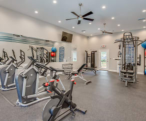 Fitness Weight Room, The Meridian