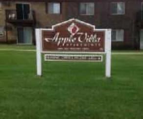 Community Signage, Apple Villa