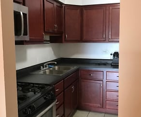 Kitchen, Wellington Apartments