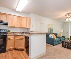 2/1 kitchen, Kingstowne Apartments II