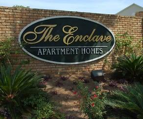 Community Signage, The Enclave