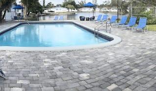 Pool, Azure Villas
