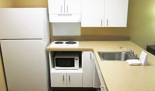 Kitchen, Furnished Studio - Providence - Warwick