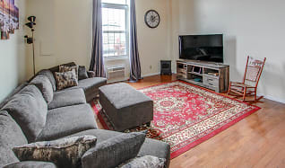 Living Room, Clinton Square Suites