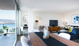 Living Room, Panomar Apartments