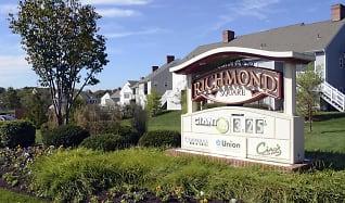 Community Signage, Apartments at Richmond Square