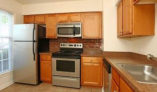 Kitchen, The Jamestown Apartments