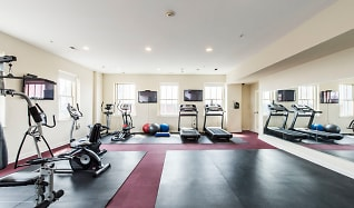 Fitness Weight Room, City View Lofts