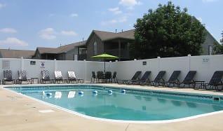 Swimming Pool & Sundeck, Shenandoah Properties