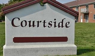 Community Signage, Courtside Apartments