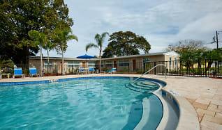 Pool, Woodlawn Park Apartments