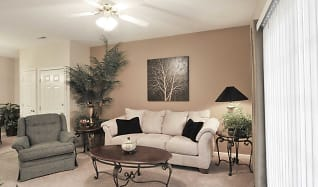Living Room, Lighthouse Apartments At Pebble Creek