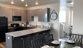 Kitchen, Midvale Station Townhomes