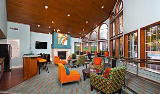 Clubhouse Lounge Area, Addison At Hampton