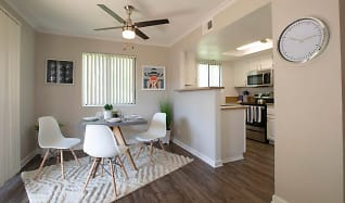 Dining Room, The BelAire Apartment Homes
