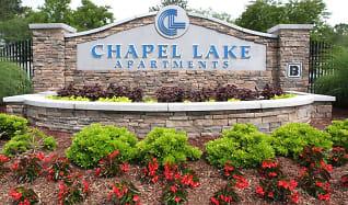 Sign, Chapel Lake Apartments