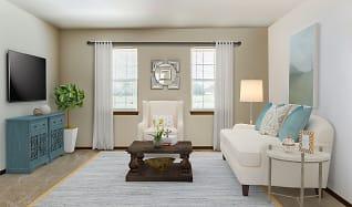 Living Room, Parkview Senior Homes