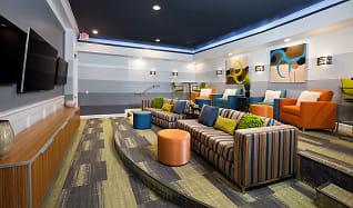 Media Room, Bexley At Springs Farm Luxury Apartments