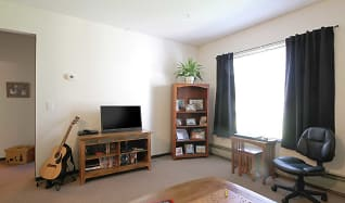 Living Room, Lake City Apartments