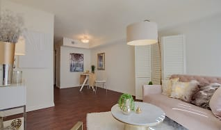 Living Room, Canyon Square Townhomes