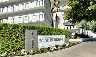Community Signage, Wilshire Regent