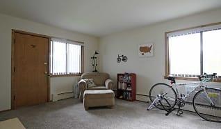 Living Room, Oakridge Apartments