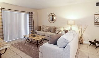Living Room, Courtyards At Miami Lakes