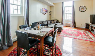 Dining Room, Clinton Square Suites