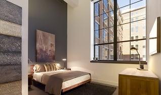 Bedroom, Parkway Lofts