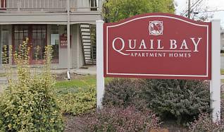 Community Signage, Quail Bay Apartments