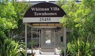 Community Signage, Whitman Villa Townhomes