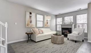 Living Room, Lakeview Townhomes at Fox Valley