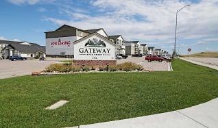 Community Signage, Gateway Apartments